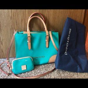 Authentic Dooney & Bourke bag with wallet.